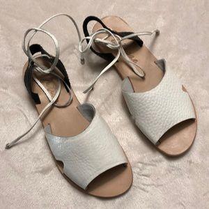 NWOT White Sandals